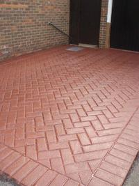 Imprinted Concrete Sealing image
